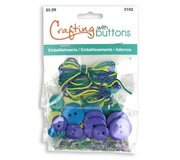 Пуговицы набор Crafting with buttons